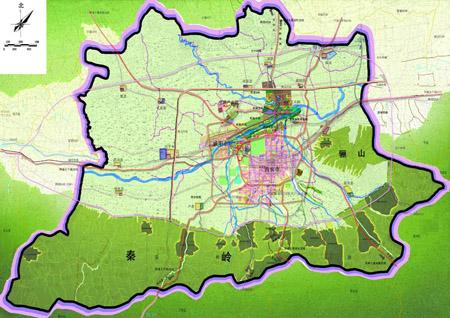 陕西省铜川市新区地图